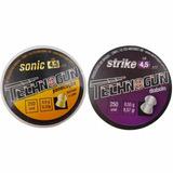 Chumbinho 4.5 Baratos Carabina Pressao 2cx Sonic Strike 500u