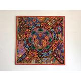 Cuadro Artesania Huichol Arte Wixarika 1m X 1m