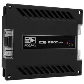 Amplificador Digital 1 Canal Banda Ice 2500w Rms Em 2 Ohms