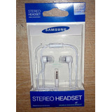 Auriculares In Ear Samsung Stereo Headset Blister