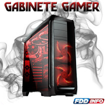 Gabinete Gamer Bluecase Bg-024 Usb 3.0 Comp/ Water Cooler