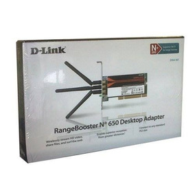 Placa De Rede Pci Wireless D-link 3 Antenas Pronta Entrega