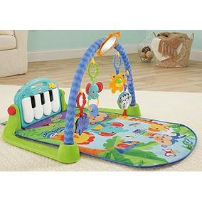 Tapete Atividades Fisher Price Ginásio Pianinho Piano Bebê