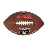 Bola De Futebol Americano Nfl Team Logo Jr Oakland Raiders