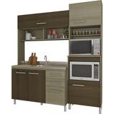 Mueble Alacena Cocina Compacta Con Mesada Incluida Divino