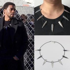 Black Panther Collar Rey Pantera Negra Picos Wakanda Picos a1cf65cb2