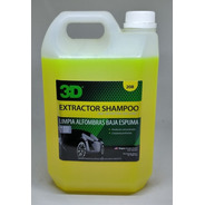 3d Extractor Shampoo Limpia Alfombras Y Tapizados Highgloss