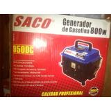 Generador Eléctrico Marca Saco 800w 2 Tiempos Nuevo