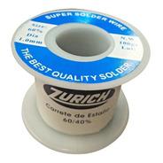 Estaño Rollo 1mm Zurich 100 Gramos 60/40 Para Soldar