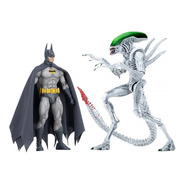 Batman Vs. Alien Figures 2-pack Nycc 2019 Neca