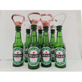 Destapador Botella Souvenir 18 Años Gancia, Stella Heineken