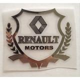 Sticker / Pegatina De Emblema Escudo Renault Motors