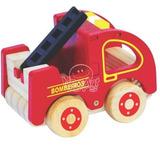 Caminhão Bombeiro Brinquedo Educativo