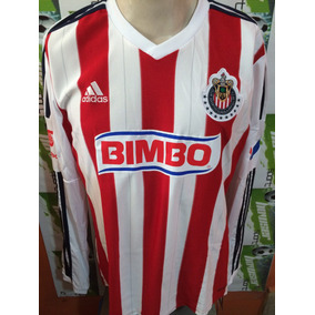Jersey adidas Chivas Rayadas Guadalajara 2015 Manga Larga