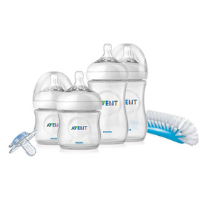 Set Teteros Philips Avent Natural Bebes Recien Nacidos Nuevo