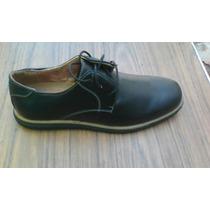 Zapatos De Vestir Color Negro Marca Nikos Talla 42 Nuevos