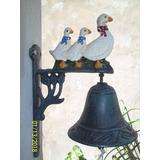 Campana Llamadora 3 Patitos - Decoracion - Jardin Agus -