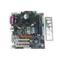 Kit Placa Mãe Ecs P4m800pro-m2 + Pentium 4 531 3.0ghz + 1gb