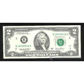 Billete 2 Dólares Estados Unidos