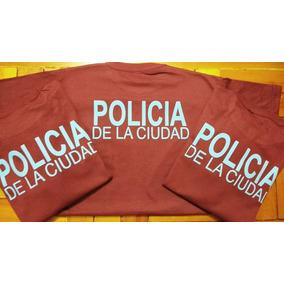 Remera Policía De La Ciudad Y Policia De Provincia