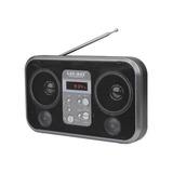 Lax-max Li-s92 Bocina Portatil Usb Sd Fm Negra Radio