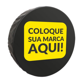 Capa Estepe Personalizada Ecosport 2003/12 Pneu 205/65 15