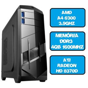 Cpu Gamer Amd A4 6300 Dual Core 3.9 4gb Ati Radeon Hd 8370d
