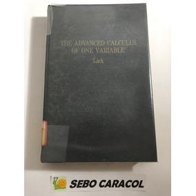 Tom apostol calculus livros no mercado livre brasil livro the advanced calculus of one variable don r lick fandeluxe Gallery