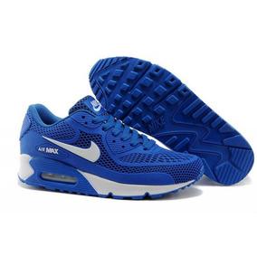 Zapatillas Nike Air Max 90 Kpu Azul Hombre -envio Gratis