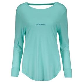 e2df486183228 Camisa Olympikus Brasil Vôlei Cbv 2014 Feminina Verde por Futfanatics. 1.  25 vendidos - São Paulo · Camiseta Olympikus Fit Feminina Manga Longa Azul