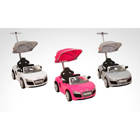 Montable Push Car Audi (rosa Blanco Plata)