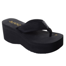 Chinelo Reef Liv Screen Preto