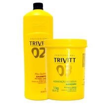 Trivitt Shampoo Pós Química 02 Hidratação Intensiva 03