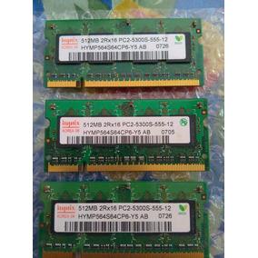 Memorias Ram 512 Varias Marcas. Pc2-5300s-555-12