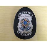 Distintivo Agente Penitenciário Original Frete Gratis