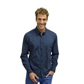 Camisa Manga Longa Mini Pasley Slim Masculina - Polo Match