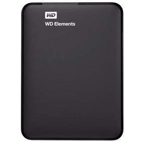 Disco Duro Externo Hdd Ext 2.5 Wd Elements 2tb Usb3 Negro