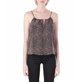 Top Markova Goya Animal Print