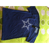 Playera Dallas Cowboys Talla L De Niño 10-12 Años