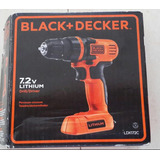 Taladro/destornillador Inhalambrico Black&decker 20v Ldx120c