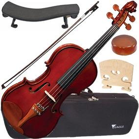 Violino 4/4 Eagle Ve441 Com Case + Espaleira Envio 24h