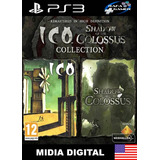 Ico And Shadow Of The Colossus | Ps3 | Psn | Promoção