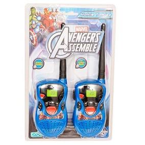 Walkie Talkie Avengers Handie Ditoys Mejor Precio!!