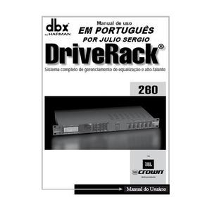 Manual Dbx 260 Manual Em Português Processador Dbx 260