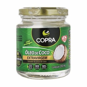 Óleo De Coco Extravirgem Copra - 200 Ml