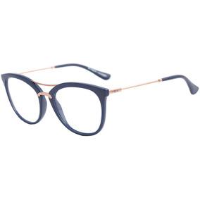 Armação Óculos De Grau Feminino Vogue Vo5156-l 2288 - Azul