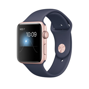 Relógio Apple Watch Sport 42mm Séries 2 Rose Ouro Rosa