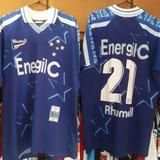 cda7679a4c20f Camisa Do Cruzeiro Energil C Rhumell Nº 7 Original!! - Camisa ...