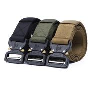 Cinturon Táctico Hebilla De Seguridad Tipo Cobra