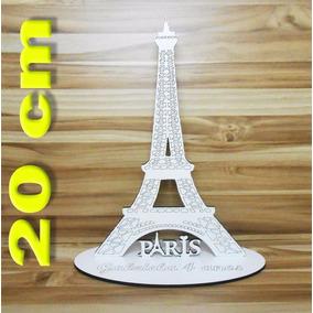 Torre Eiffel Centro De Mesa Lembrança Festa 20cm
